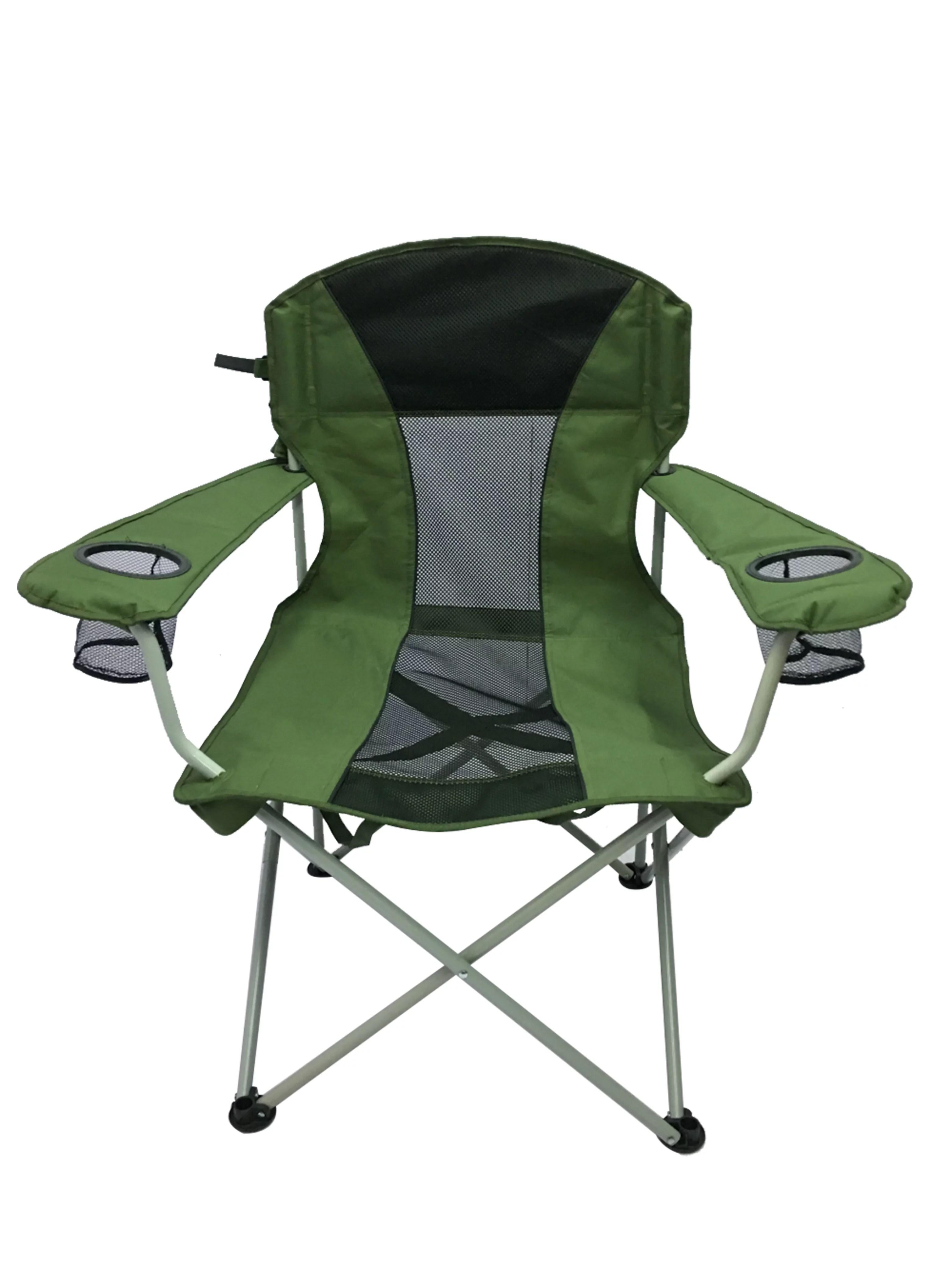 ozark trail oversized mesh chair mid century modern ot oversize green walmart