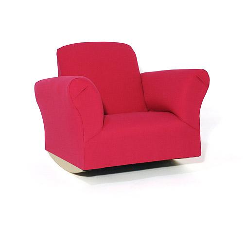Kids Rocking Chair Hot Pink Cotton  Walmartcom