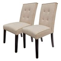 Tall Tufted Dining Chair Set of 2 - Walmart.com