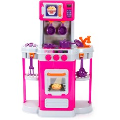 Toy Kitchen Sets Island Cabinets Wish I Was Playset Pink Walmart Com