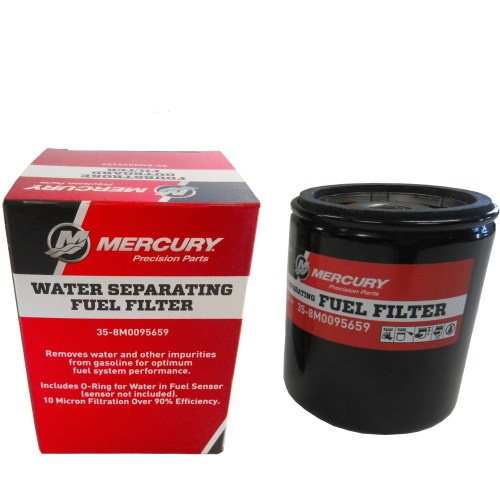 small resolution of mercury marine mercruiser new oem water separating fuel filter 35 8m0095659 walmart com