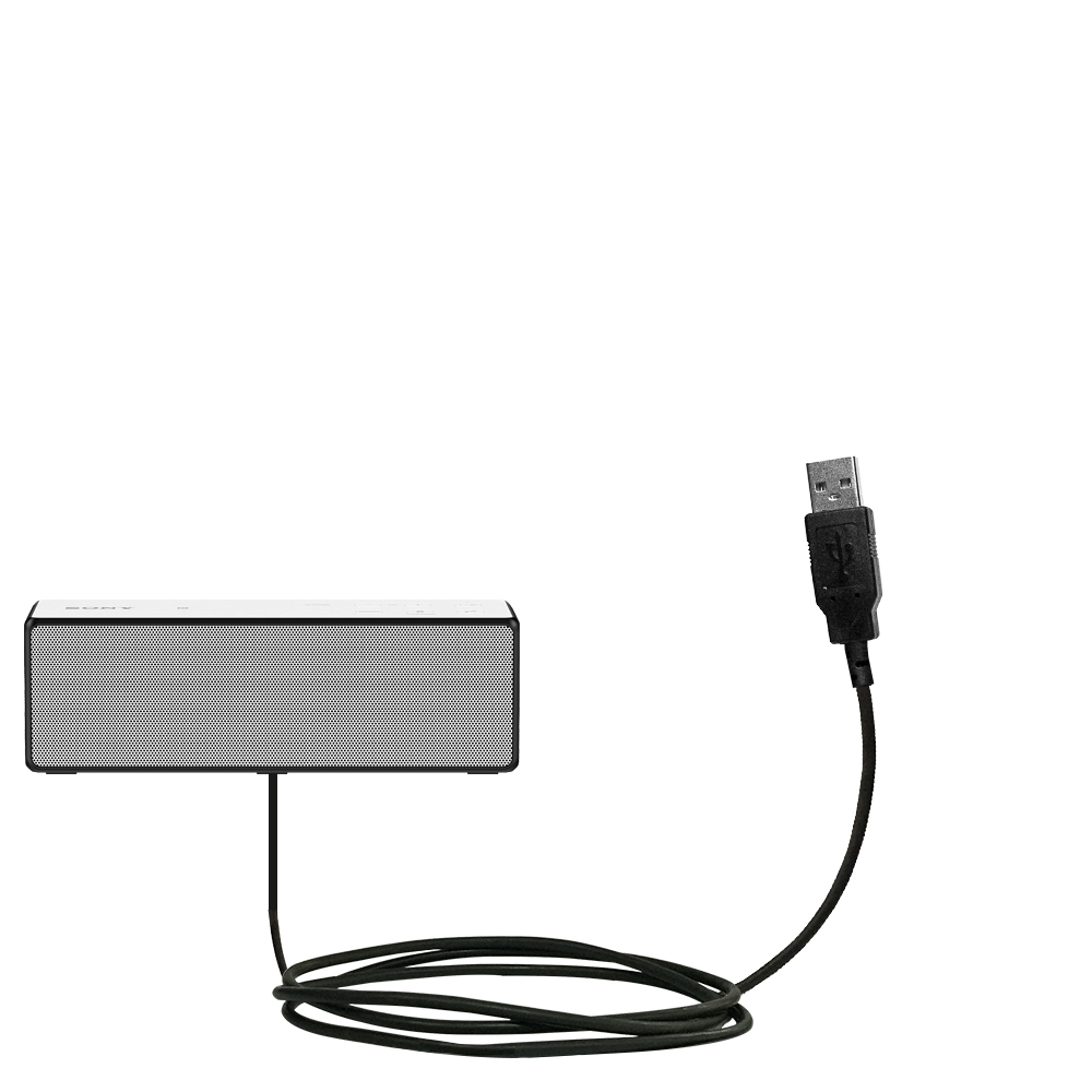 Classic Straight USB Cable suitable for the Sony SRS-X33
