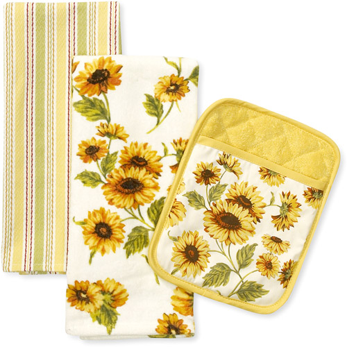 Better Homes And Gardens Sunflower Kitchen Towel And Pot