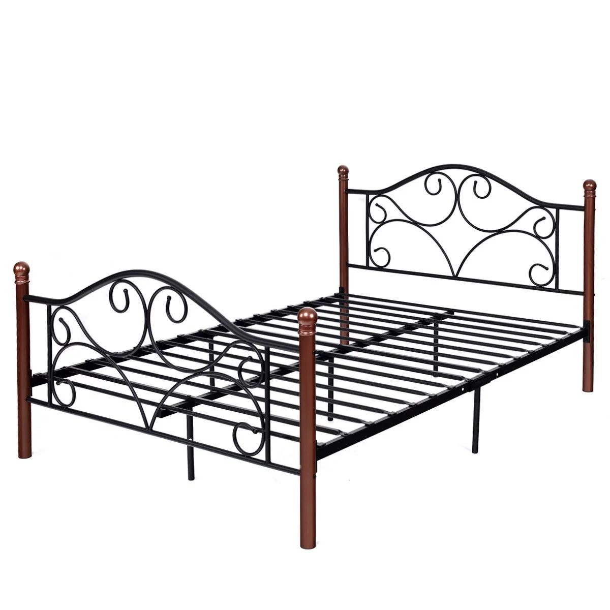 Costway Full Size Steel Bed Frame Platform Stable Metal