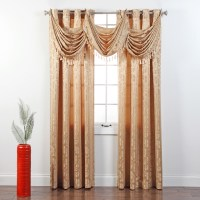 How To Make A Waterfall Valance Curtain | Curtain ...