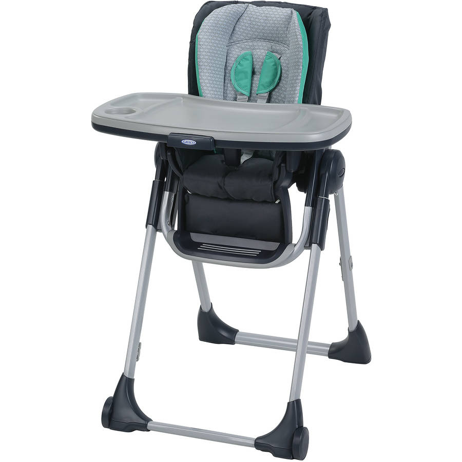 graco slim fold high chair home goods leather swivel swift basin walmart com