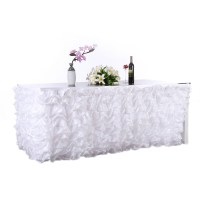 Handmade Elegant Tulle Table Skirt For Party , Meetings ...