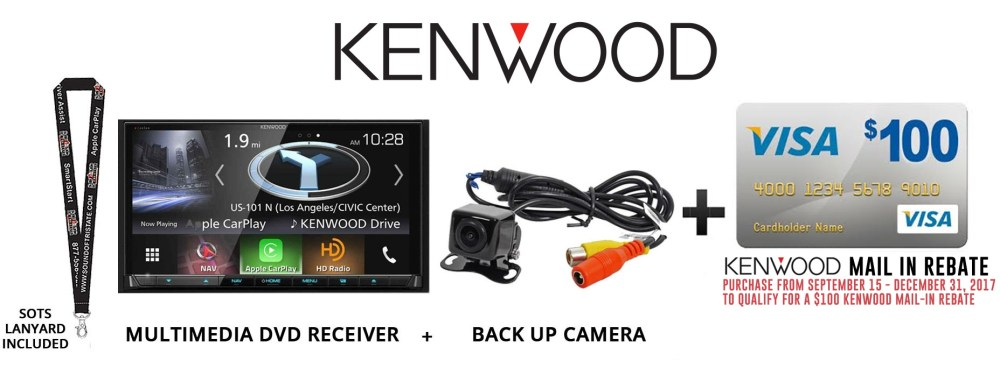 medium resolution of kenwood excelon dnx994s factory refurbished navigation system bluetooth hd radio back up camera walmart com