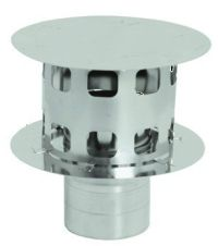 Stainless Steel Rain Cap for 4 inch Vent Pipe