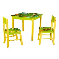Table And Chairs For Kids Step2 Chair Set Sets Walmart Com Product Image Senda Jungle 3 Piece