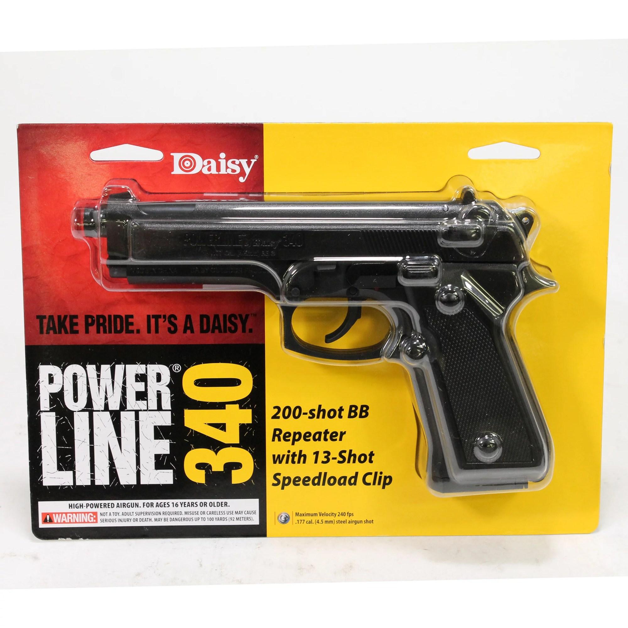 hight resolution of daisy powerline 340 air pistol 177 cal