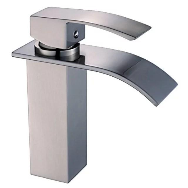 moen tilson bathroom faucet spot brushed nickel finish spot resistant watrsense