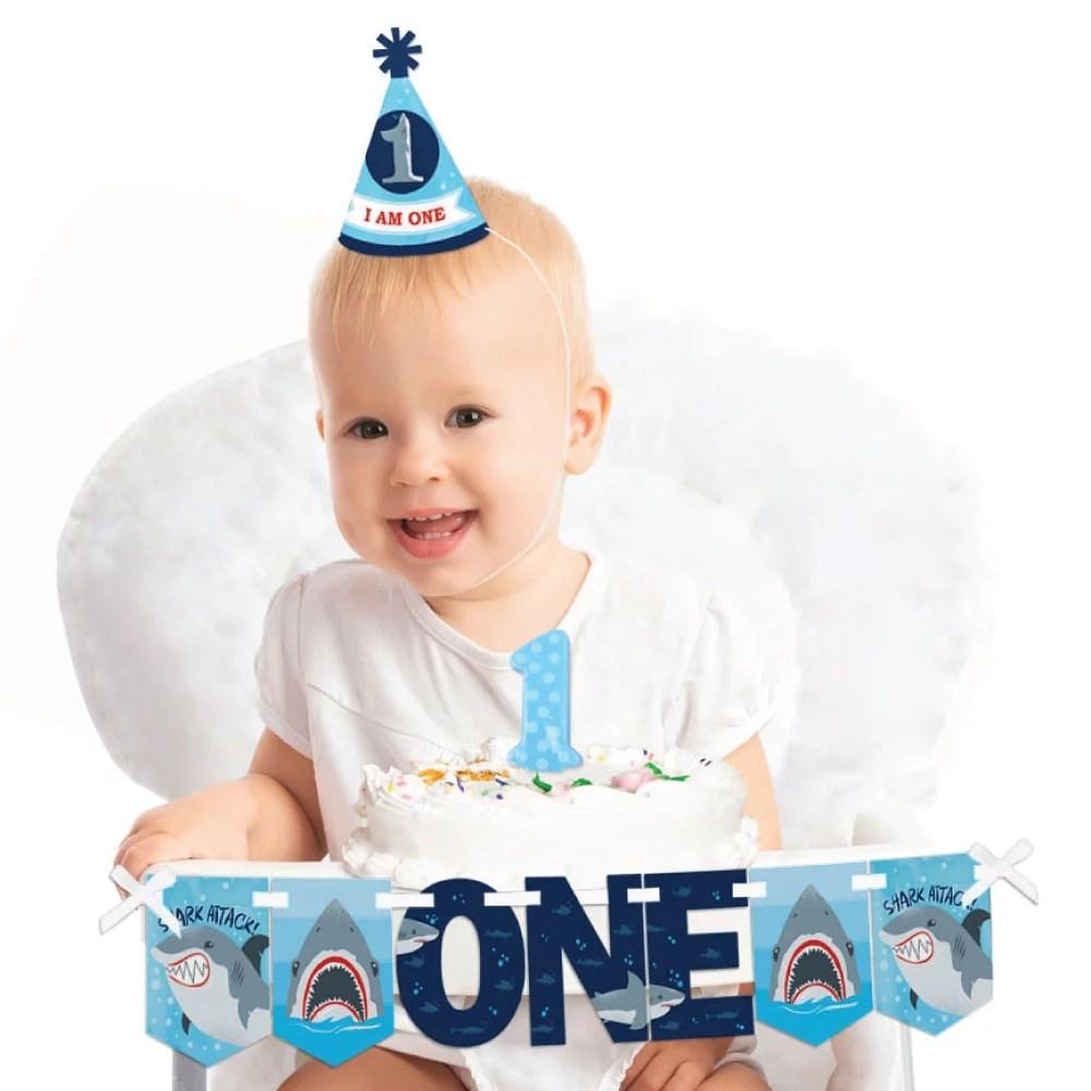 shark zone 1st birthday