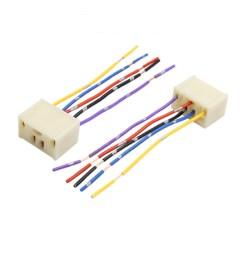 4pcs dc 12v 5 pin car power window switch socket wiring harness adapter walmart com [ 2000 x 2000 Pixel ]