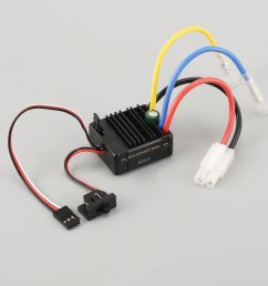 540 27t brushed motor 60a esc with 5v 2a bec for 1 10 off road rc racing car [ 1010 x 1010 Pixel ]