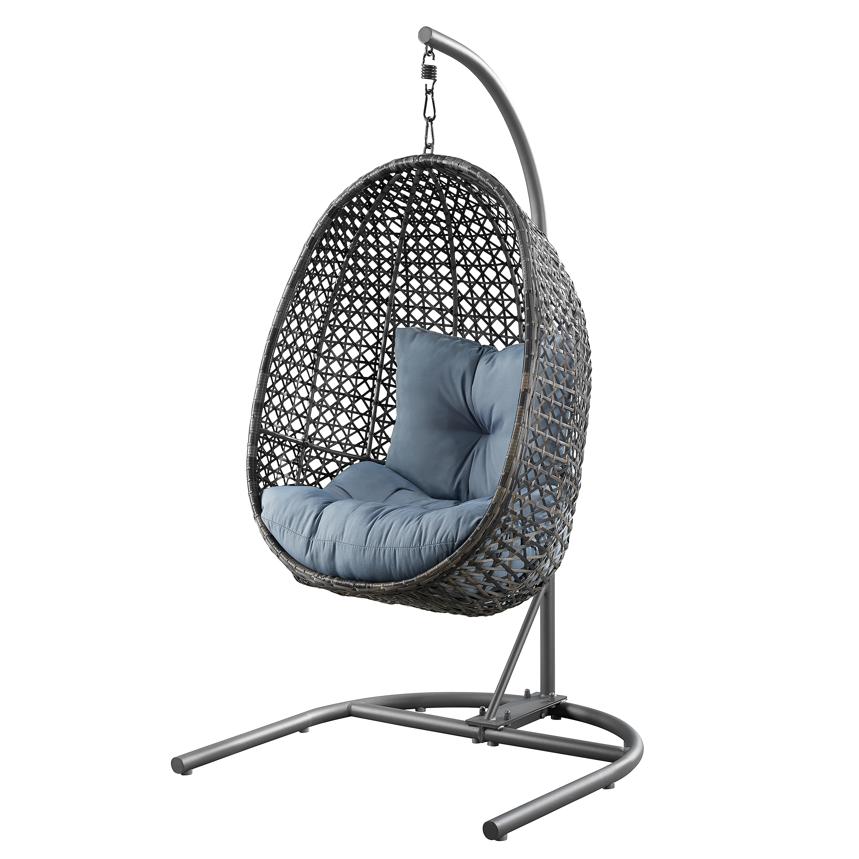 Hanging Patio Chair Better Homes Gardens Lantis Patio Wicker Hanging Chair Walmart