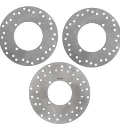 2005 2006 polaris sportsman 500 4x4 ho front rear brake rotors discs walmart com [ 2801 x 2730 Pixel ]