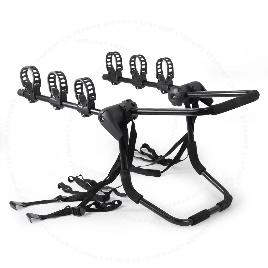 fit acura bike rack carrier trunk mount 3 bicycle holder front for cl integra legend mdx nsx rdx rl rsx slx tl tsx vigor walmart com