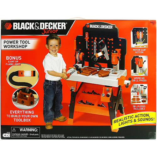 Black And Decker Tool Bench For Toddlers