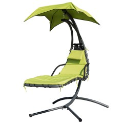 Hammock Chair Stand Canadian Tire Arm Covers At Amazon Finether Hanging Chaise Lounge Outdoor Indoor