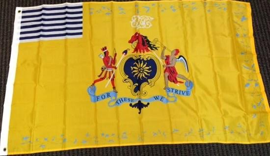 3x5 Philadelphia Light Horse Flag Revolutionary War Banner