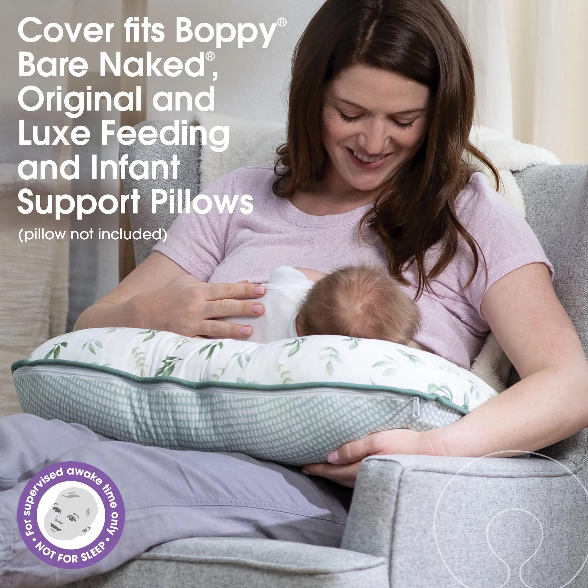 boppy organic fabric pillow cover walmart com walmart com