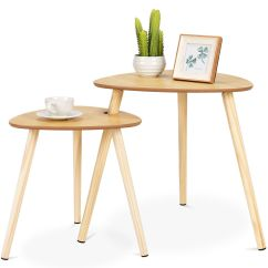 Accent Sofa Ralph Lauren Home Jamaica Gymax 2 Pcs Nesting Coffee Tables End Side Table Wooden Leg Living Room Walmart Com