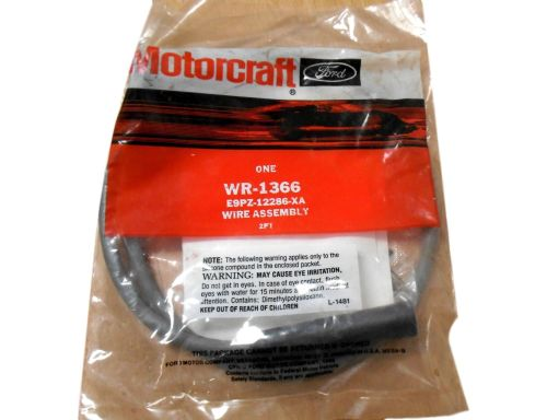 small resolution of motorcraft ford ignition wiring harness assembly wr 1366 e9pz 12286 xa walmart com