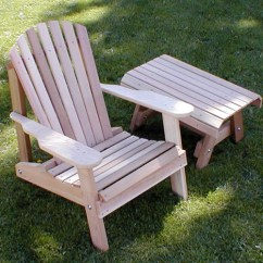 Steel Chair Accessories Wooden Guitar Stand Creekvine Designs Cedar Furniture And Wood Adirondack With Table Walmart Com