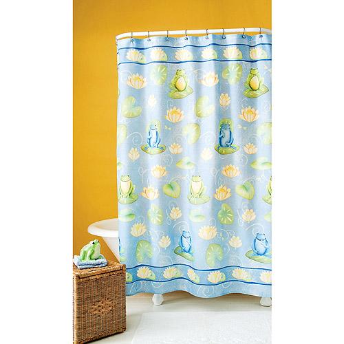 Fun Frog Shower Curtain Walmart Com