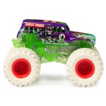 Monster Jam Official Grave Digger 1 64 Scale Monster Truck And 5 Inch Grim Creatures Action Figure Set Walmart Com Walmart Com