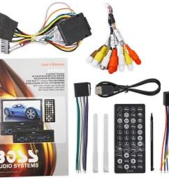 boss bv9965i single din 7 in dash monitor dvd cd am fm receiver usb sd ipod walmart com [ 1700 x 1543 Pixel ]