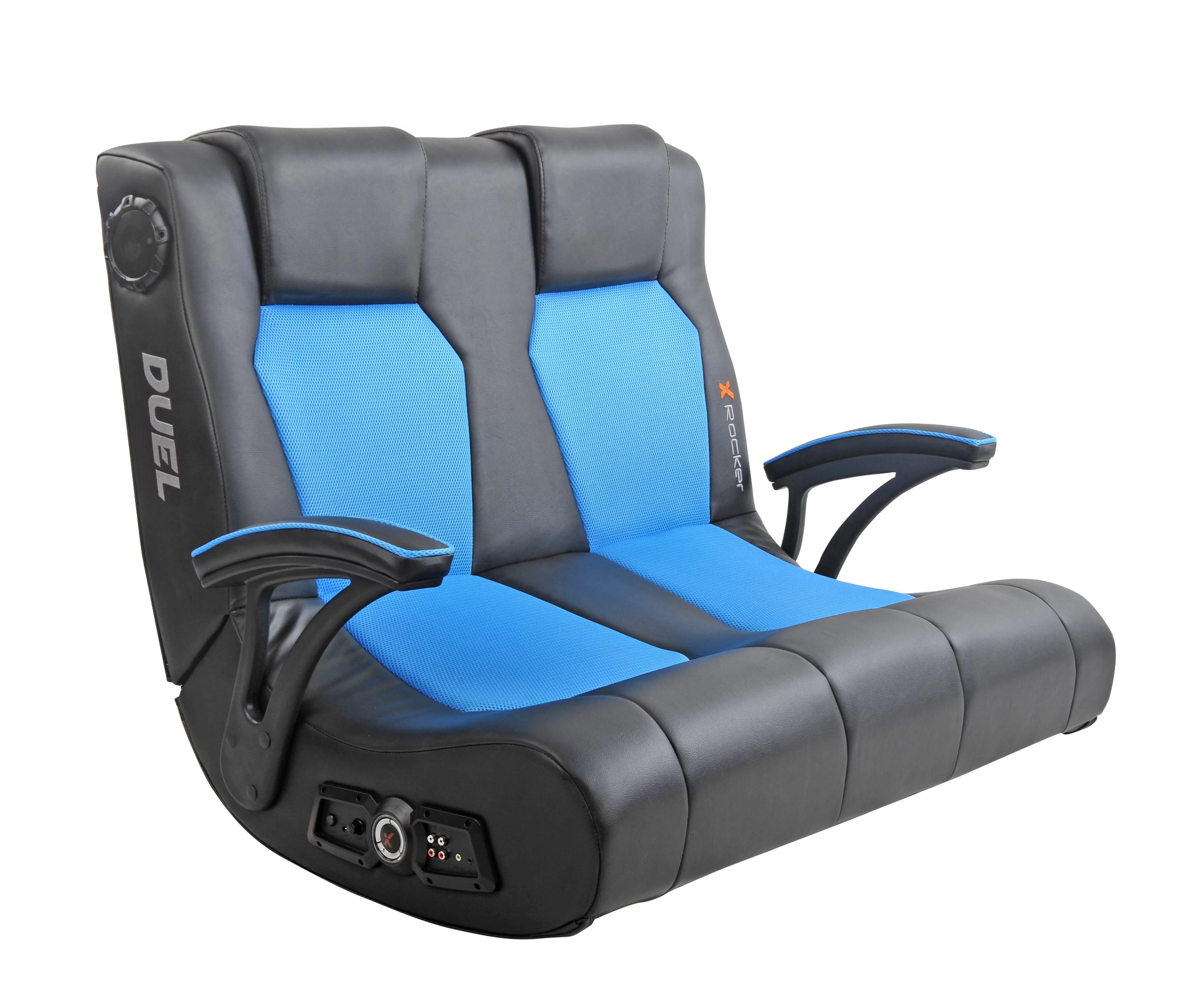 x rocker gaming chair swivel vanity dual commander available in multiple colors walmart com