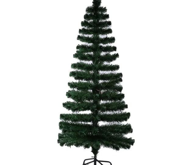 Festival Indoor Outdoor Led Fiber Optic Light Christmas Tree Decoration