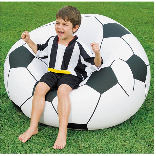 inflatable soccer ball chair medical reclining chairs uk bestway beanless - walmart.com