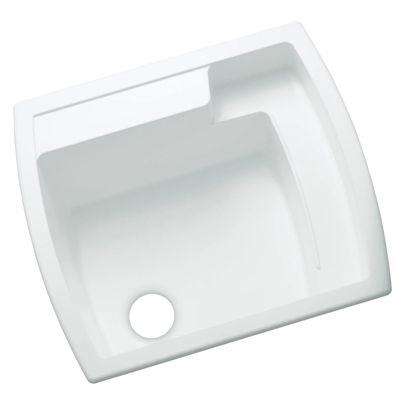 sterling latitude 995 single basin drop in utility sink walmart com