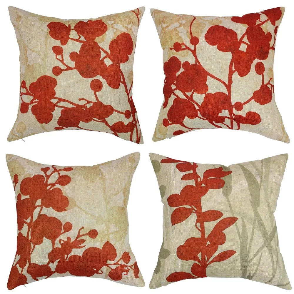 One byrdie editor explains why she can't sleep without them all beauty, all the time—for everyone. Popeven Red Flower Throw Pillow Covers 18 x 18'' Set of 4 ...