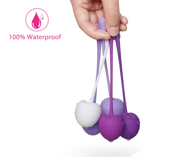 Kegel Exercise Weights Ben Wa Balls Bladder Control Ef Bc Pelvic Floor Exercises Set Premium Medical Silicone Vaginal Kegel