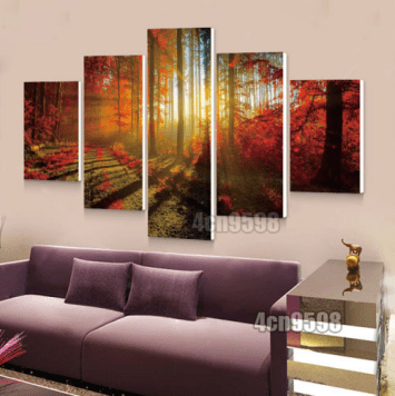 canvas wall art walmart