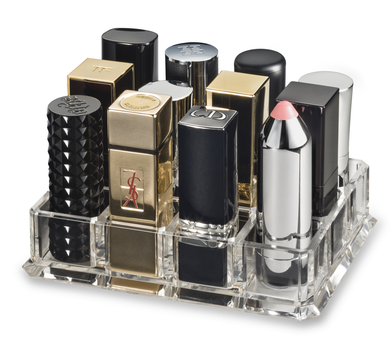 byalegory acrylic lipstick makeup organizer designed for