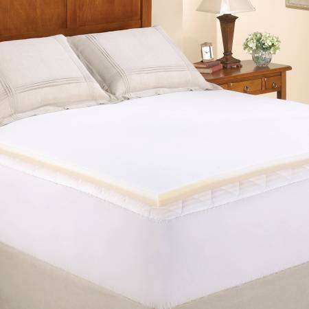 Mainstays 1 5 Memory Foam Combo Mattress Topper In Multiple Sizes