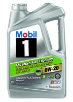 Mobil 1 0W 20 Advanced Fuel Economy Full Synthetic Motor ...