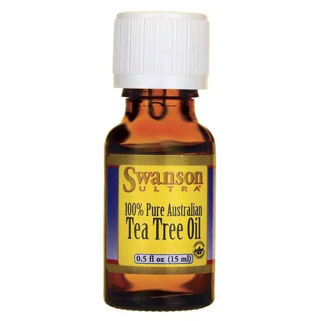 Swanson Tea Tree Oil 0.5 fl oz Liquid - Walmart.com ...