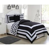 Madeline Reversible Comforter Set Twin Teal/White ...