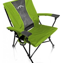 Strong Back Chairs Best Canoe Chair Strongback Elite Heavy Duty Folding Camp With Lumbar Support Lime Green Walmart Com