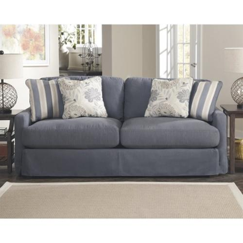 addison sofa ashley furniture feydom bonbon slate collection fabric upholstery cottage style living room couch walmart com
