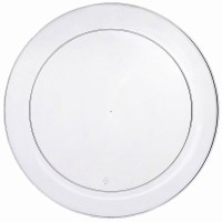 Clear Plastic Dinner Plates Wedding & Bulk Dinner Plates Cheap
