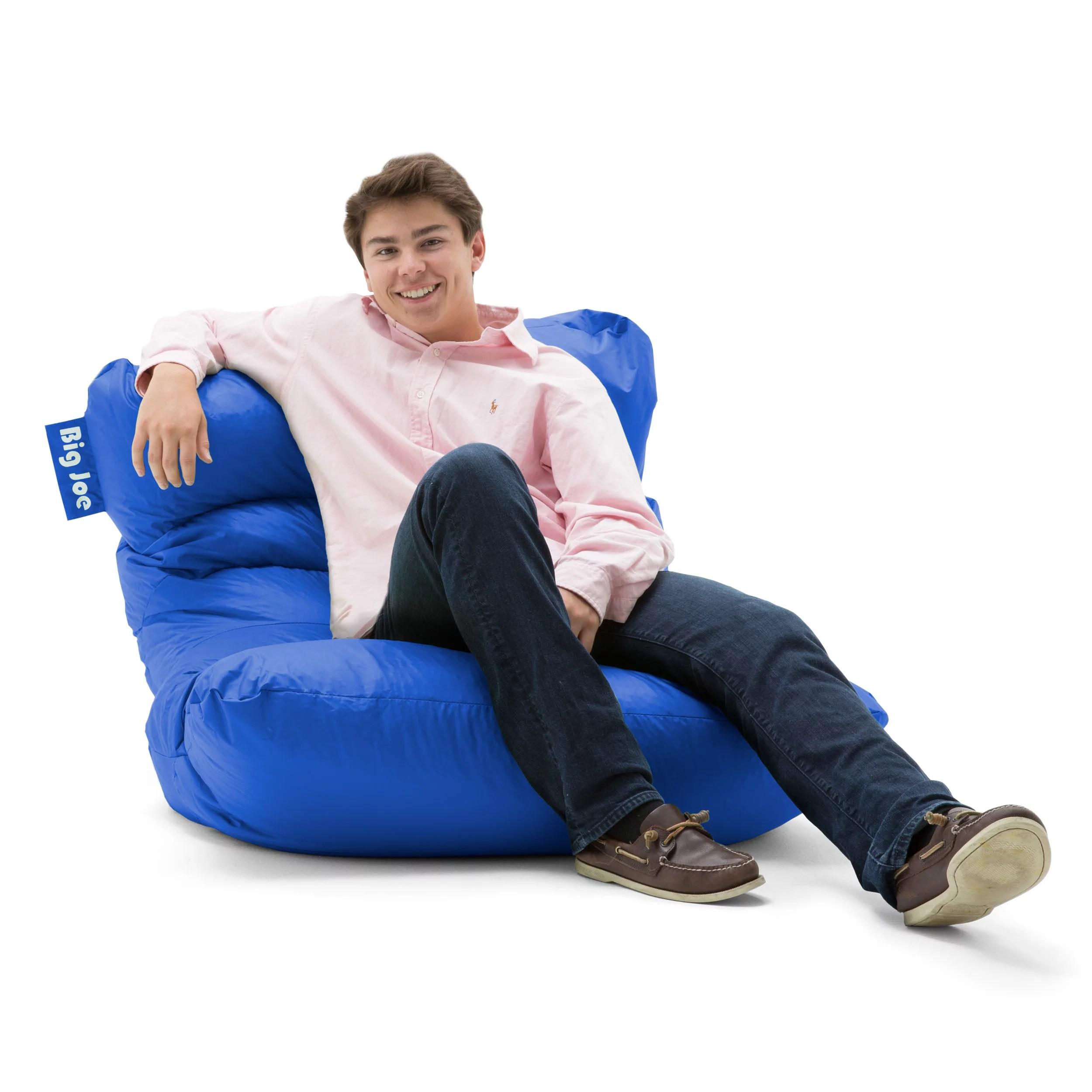 big joe roma lounge chair farm table and chairs floor bean bag multiple colors fabrics walmart com