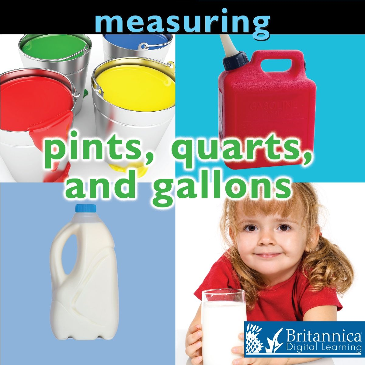 Measuring Pints Quarts And Gallons