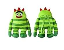 Yo Gabba Gabba 18 Inch Plush Backpack Toy Brobee